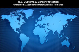 US Customs GO Merchandise Online Auction (May 3-4)