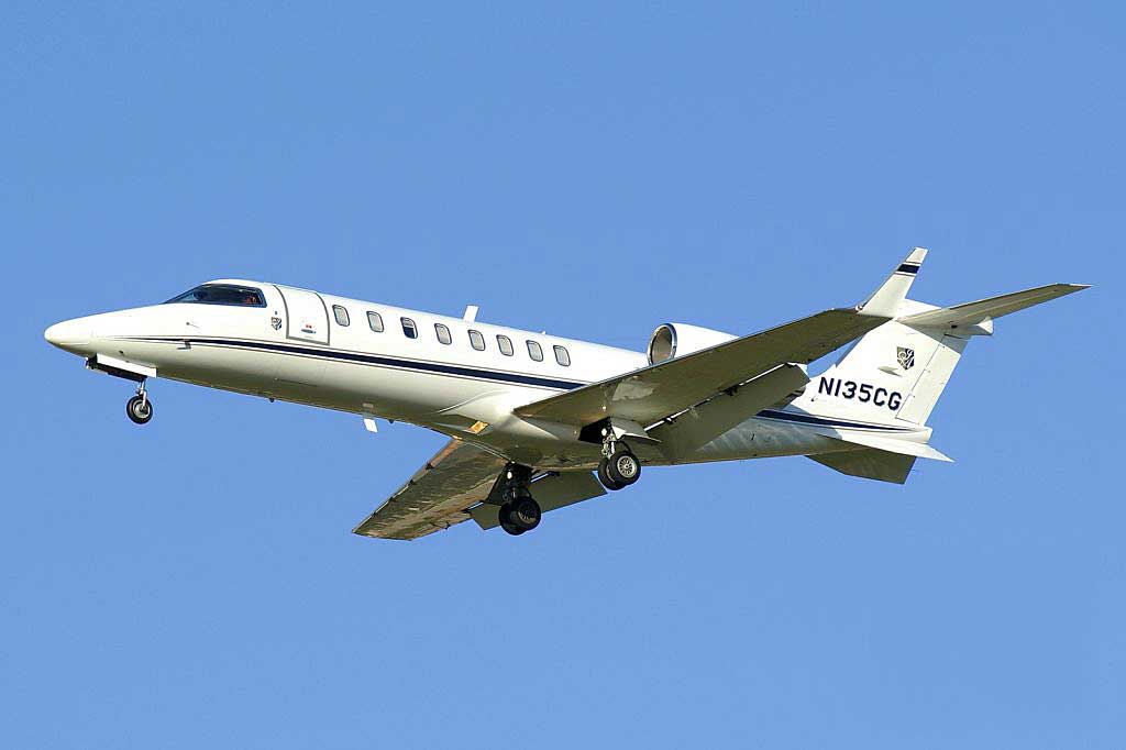 U.S. Treasury Aircraft (2008 Learjet 45XR) Online Auction (May 17-24)